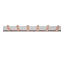Insulated Busbar - Pin Type 1 Pole 1M length