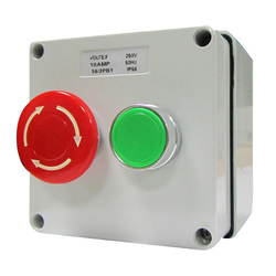 250V 10A Emergency Stop control and start station