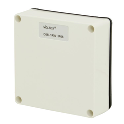Voltex One gang Mounting Enclosure Lid - Chemical Resistant