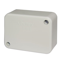 Voltex Standard Junction Box with connectors - 80 x 60 x 37mm