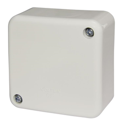 Voltex Standard Junction Box with connectors - 70 x 70 x 37mm