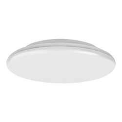 Voltex Oyster  Ceiling Light LED 18W IP44 Tricolour Dimmable 30cm