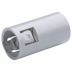 Plain to Corrugated Connector Grey 20mm - 20 Pack