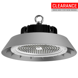 200W Voltex LED High Bay Light - Cool White - with 90° lens