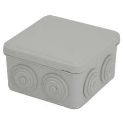 Voltex IP54  (84 x 84 x 50) Junction Box with conical cable-glands
