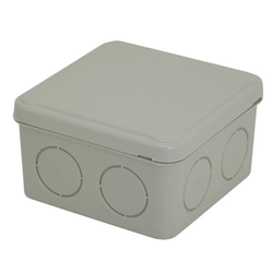 Voltex IP54  (84 x 84 x 50mm) Junction Box with knock-outs