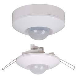 Interior 360° Dual Mount (Flush AND Surface) Ceiling Sensor