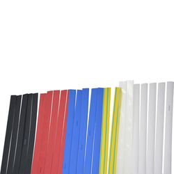 Mixed HS Pack - 10 to 4.8mm (1.2m)5 x Black, 5 x Blue, 5 x Red, 5 x White, 2 x Clear, 2 x Green/Yellow