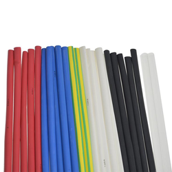 Mixed HS Pack - 7 to 3.2mm (1.2m)5 x Black, 5 x Blue, 5 x Red, 5 x White, 2 x Clear, 2 x Green/Yellow