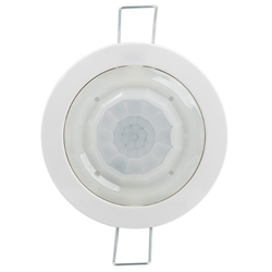 Voltex Indoor 360° Motion Sensor 64mm Cut-Out - IP23 - 2 Relay
