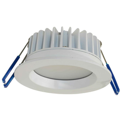 MADRID 9W LED Fixed Down Light 90° - Warm White 3000K - Matt White