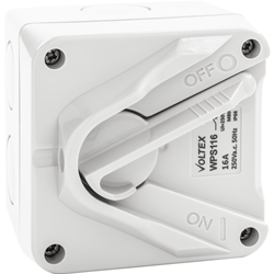 Voltex Weatherproof Switch - IP66 16A 1 Pole
