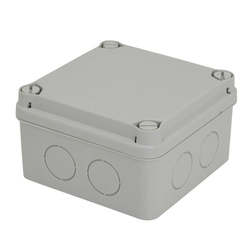 Voltex IP67  (108 x 108 x 64mm) Junction Box with knock-outs