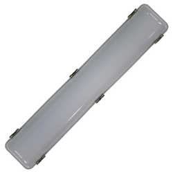 Voltex LED 24W Maintained Weatherproof IP66 Batten - 600mm - 5000K