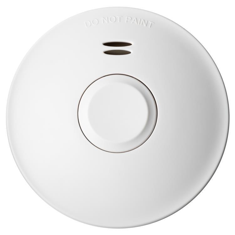 Voltex Smoke Alarm Surface Mounted Photoelectric with 10 years Lithium battery and wireless Interconnection