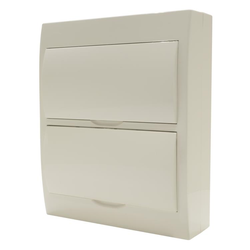 Switchboard - Surface Mounting - 24 way - White Door