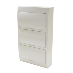 Switchboard - Surface Mounting - 36 way - White Door