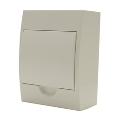 Switchboard, Surface Mounting, 4 way, White Door